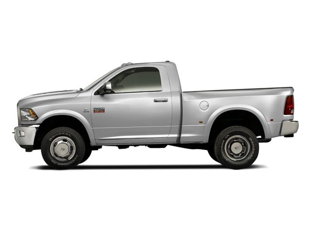 Bright Silver Metallic 2012 Ram Truck 3500 Pictures 3500 Regular Cab ST 2WD photos side view