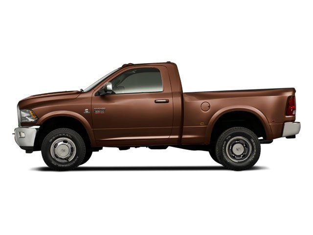 Saddle Brown Pearl 2012 Ram Truck 3500 Pictures 3500 Regular Cab SLT 2WD photos side view