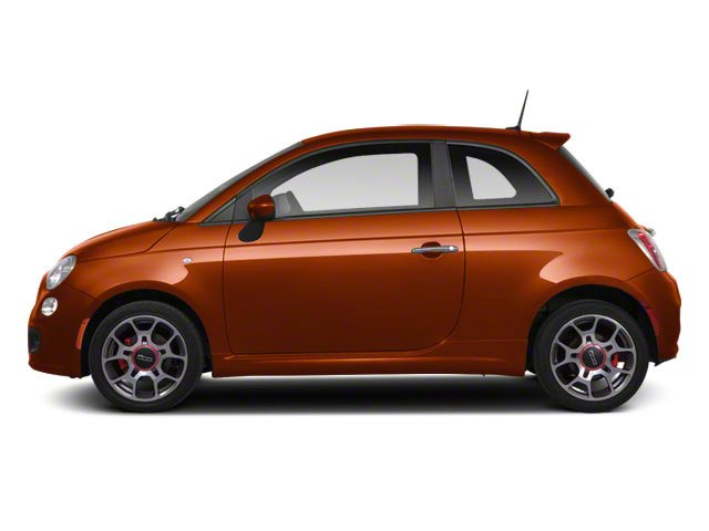 Rame (Copper) 2012 FIAT 500 Pictures 500 Hatchback 3D Sport photos side view