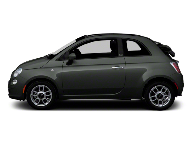 Grigio (Grey) 2012 FIAT 500 Pictures 500 Convertible 2D Lounge photos side view