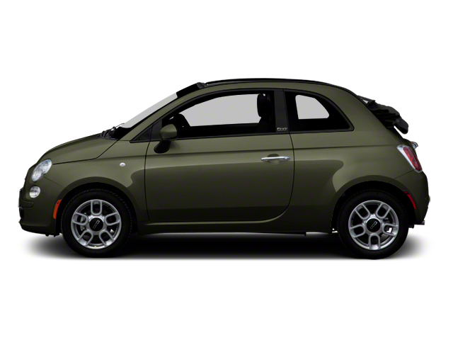Verde Oliva (Olive Green) 2012 FIAT 500 Pictures 500 Convertible 2D Lounge photos side view