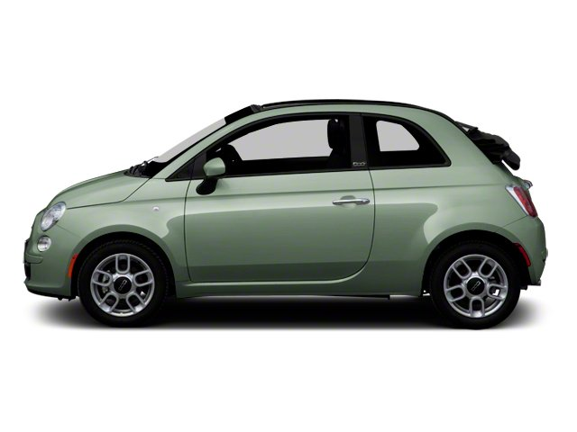 Verde Chiaro (Light Green) 2012 FIAT 500 Pictures 500 Convertible 2D Lounge photos side view