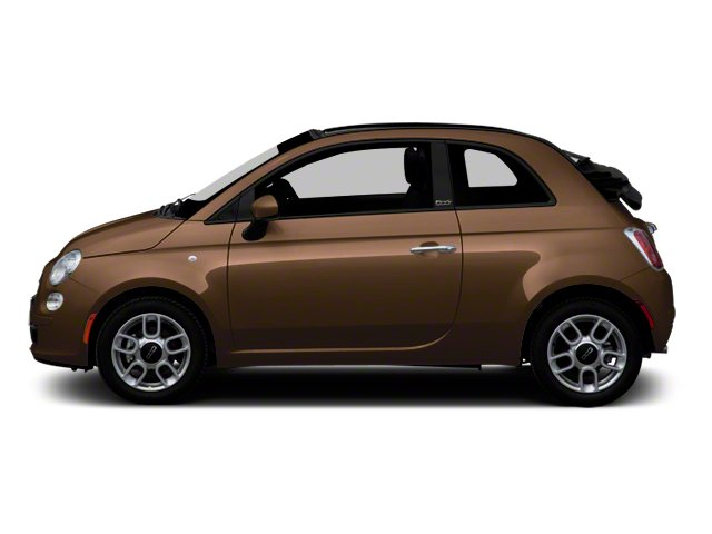 Espresso 2012 FIAT 500 Pictures 500 Convertible 2D Lounge photos side view