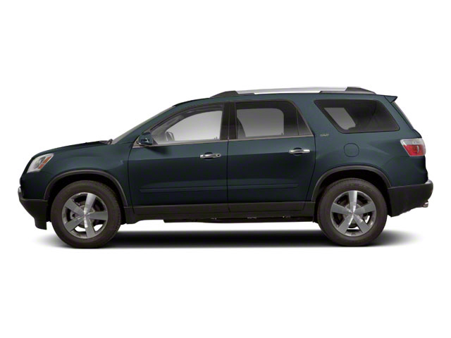 Cyber Gray Metallic 2012 GMC Acadia Pictures Acadia Wagon 4D SLE AWD photos side view