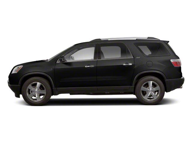 Carbon Black Metallic 2012 GMC Acadia Pictures Acadia Wagon 4D SLE AWD photos side view