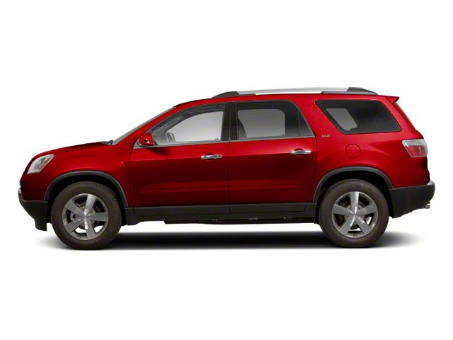 Crystal Red Tintcoat 2012 GMC Acadia Pictures Acadia Wagon 4D SLE AWD photos side view