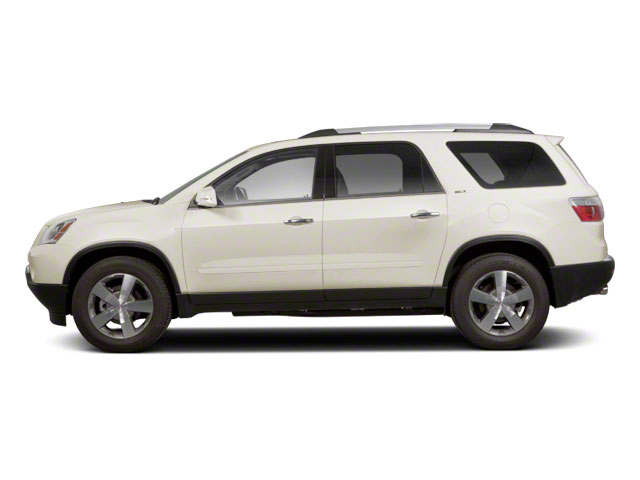 White Diamond Tricoat 2012 GMC Acadia Pictures Acadia Wagon 4D SLE AWD photos side view