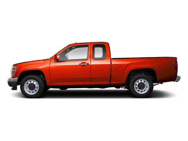 Red Orange Metallic 2012 GMC Canyon Pictures Canyon Extended Cab SLE photos side view