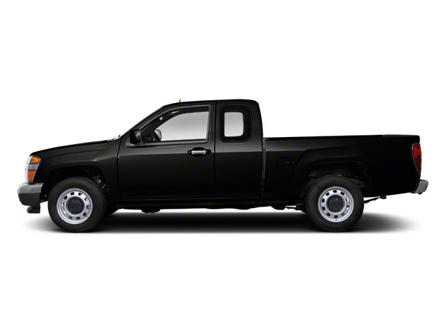 Onyx Black 2012 GMC Canyon Pictures Canyon Extended Cab SLE photos side view