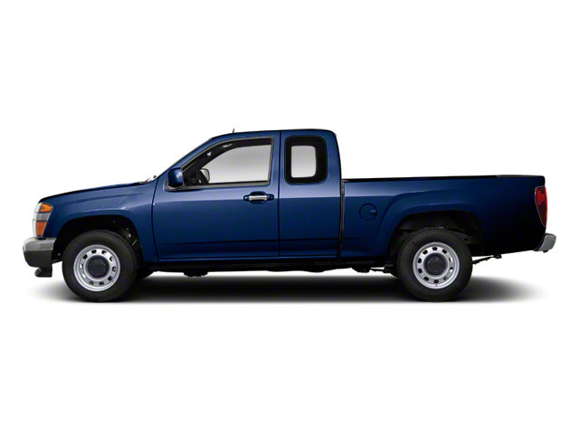 Navy Blue 2012 GMC Canyon Pictures Canyon Extended Cab SLE photos side view