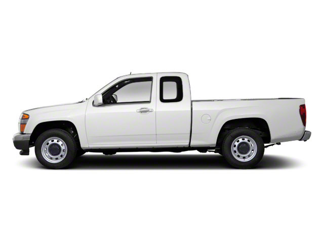 Summit White 2012 GMC Canyon Pictures Canyon Extended Cab SLE photos side view
