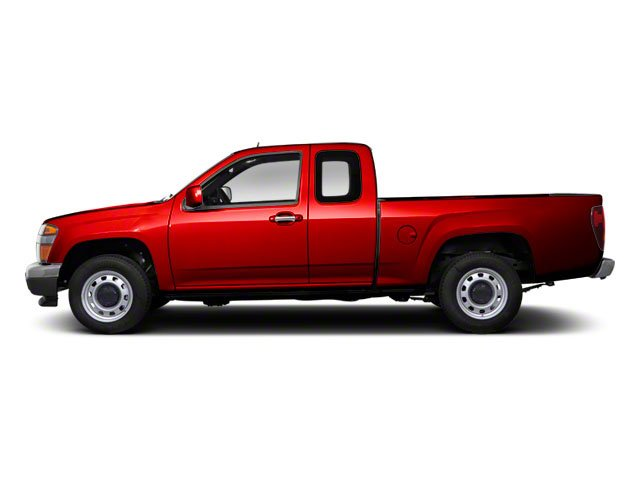Fire Red 2012 GMC Canyon Pictures Canyon Extended Cab SLE photos side view