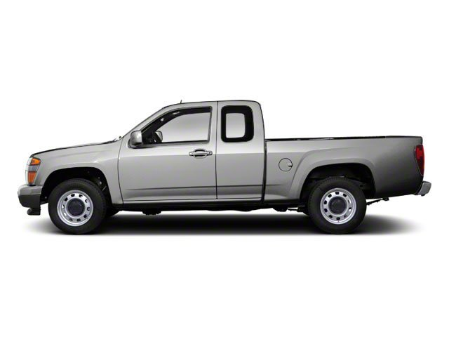 Pure Silver Metallic 2012 GMC Canyon Pictures Canyon Extended Cab SLE photos side view
