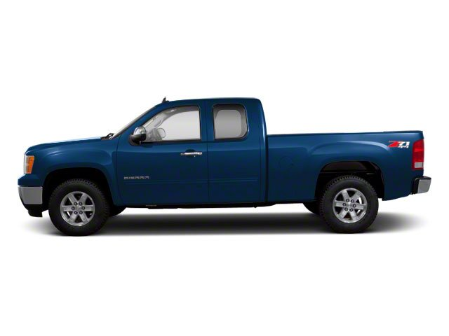 Midnight Blue Metallic 2012 GMC Sierra 1500 Pictures Sierra 1500 Extended Cab Work Truck 2WD photos side view