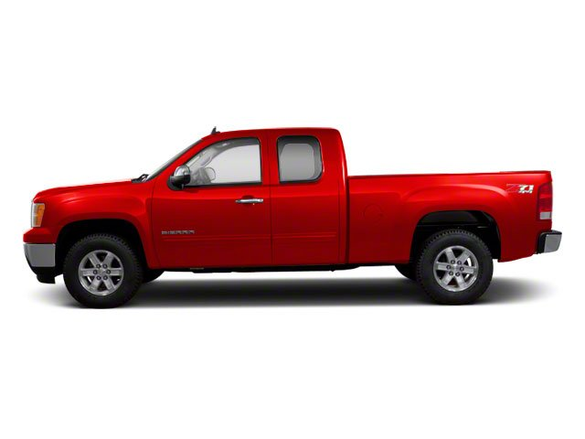Fire Red 2012 GMC Sierra 1500 Pictures Sierra 1500 Extended Cab Work Truck 2WD photos side view