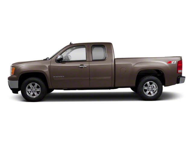 Mocha Steel Metallic 2012 GMC Sierra 1500 Pictures Sierra 1500 Extended Cab Work Truck 2WD photos side view