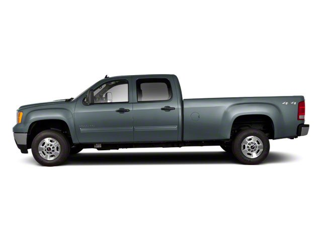 Stealth Gray Metallic 2012 GMC Sierra 2500HD Pictures Sierra 2500HD Crew Cab SLT 4WD photos side view