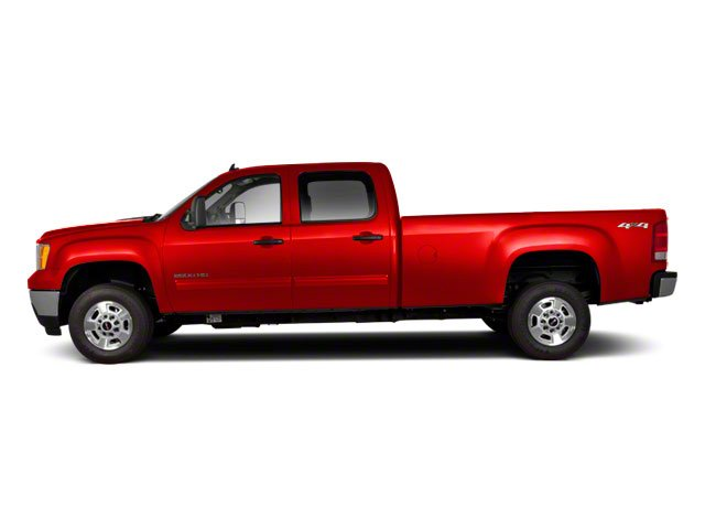 Fire Red 2012 GMC Sierra 2500HD Pictures Sierra 2500HD Crew Cab SLT 4WD photos side view