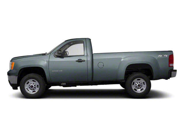 Stealth Gray Metallic 2012 GMC Sierra 2500HD Pictures Sierra 2500HD Regular Cab SLE 2WD photos side view