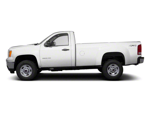 Summit White 2012 GMC Sierra 2500HD Pictures Sierra 2500HD Regular Cab SLE 2WD photos side view