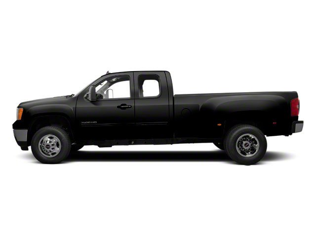 Onyx Black 2012 GMC Sierra 3500HD Pictures Sierra 3500HD Extended Cab SLT 4WD photos side view
