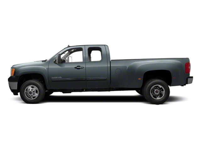 Stealth Gray Metallic 2012 GMC Sierra 3500HD Pictures Sierra 3500HD Extended Cab SLT 4WD photos side view