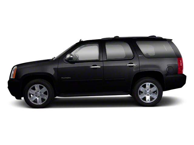 Onyx Black 2012 GMC Yukon Pictures Yukon Utility 4D SLT 4WD photos side view