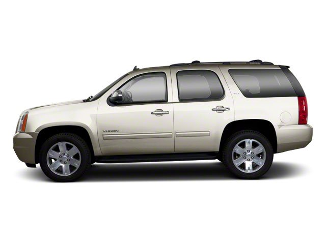 White Diamond Tricoat 2012 GMC Yukon Pictures Yukon Utility 4D SLT 4WD photos side view