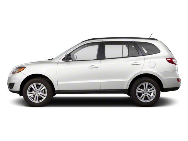 Frost White Pearl 2012 Hyundai Santa Fe Pictures Santa Fe Utility 4D GLS 2WD photos side view