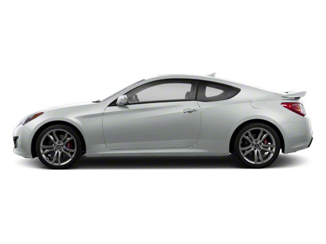 Circuit Silver 2012 Hyundai Genesis Coupe Pictures Genesis Coupe 2D Track photos side view