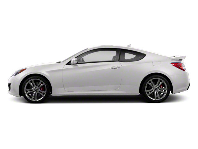 Karussell White 2012 Hyundai Genesis Coupe Pictures Genesis Coupe 2D Track photos side view