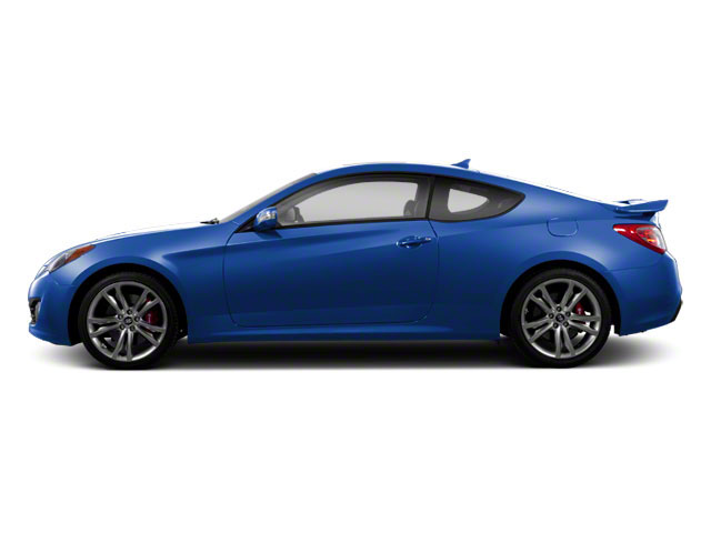 Mirabeau Blue 2012 Hyundai Genesis Coupe Pictures Genesis Coupe 2D Track photos side view