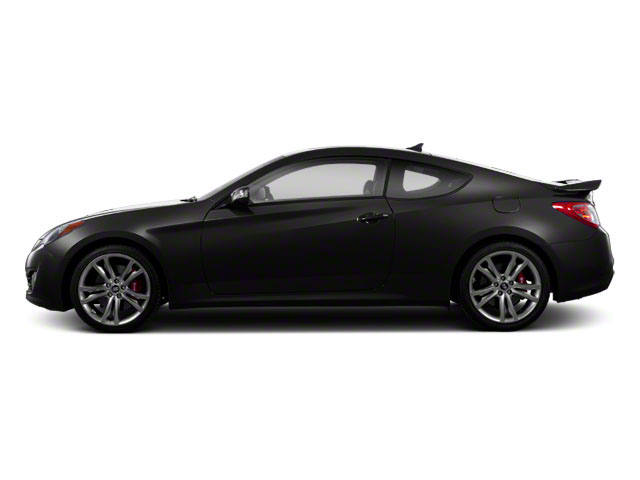 Becketts Black 2012 Hyundai Genesis Coupe Pictures Genesis Coupe 2D Track photos side view