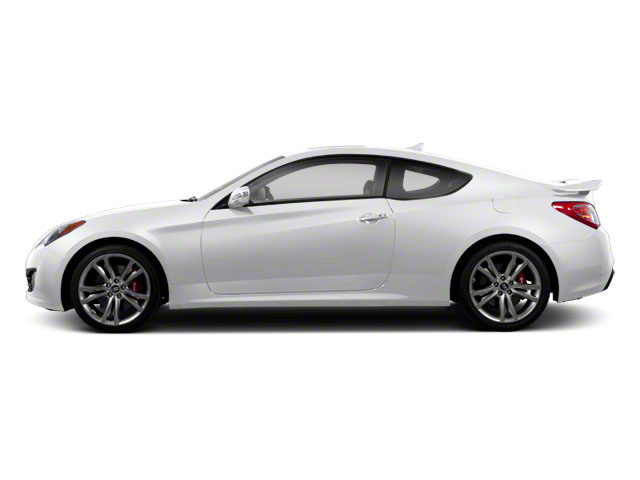 Monaco White 2012 Hyundai Genesis Coupe Pictures Genesis Coupe 2D Track photos side view