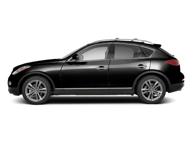Malbec Black 2012 INFINITI EX35 Pictures EX35 Wagon 4D Journey AWD photos side view