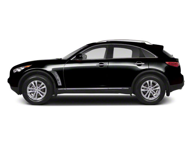 Malbec Black 2012 INFINITI FX50 Pictures FX50 FX50 AWD photos side view