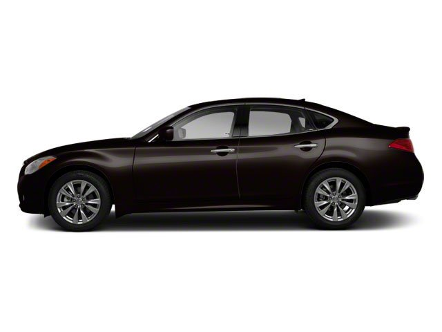 Malbec Black 2012 INFINITI M56 Pictures M56 Sedan 4D photos side view