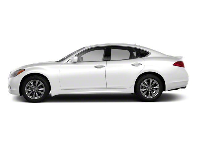 Moonlight White 2012 INFINITI M56 Pictures M56 Sedan 4D photos side view