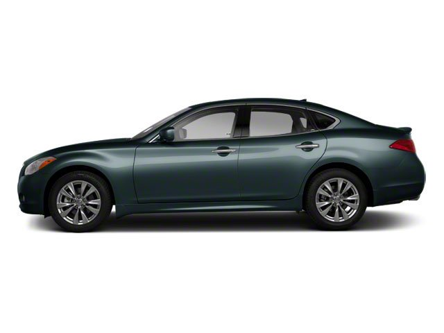 Harbour Blue 2012 INFINITI M56 Pictures M56 Sedan 4D photos side view