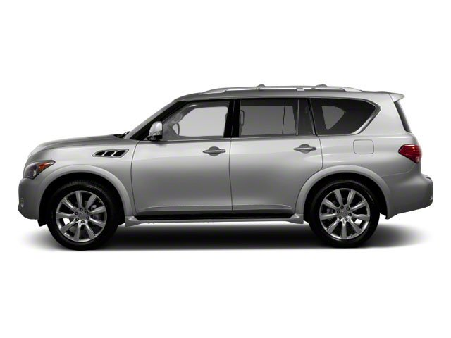 Liquid Platinum 2012 INFINITI QX56 Pictures QX56 Utility 4D 4WD photos side view