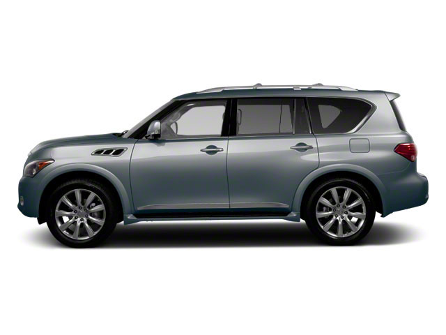 Platinum Graphite 2012 INFINITI QX56 Pictures QX56 Utility 4D 4WD photos side view