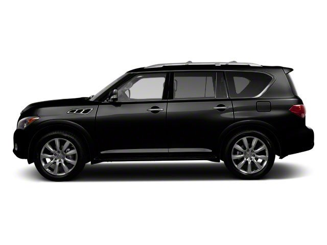 Black Obsidian 2012 INFINITI QX56 Pictures QX56 Utility 4D 2WD photos side view