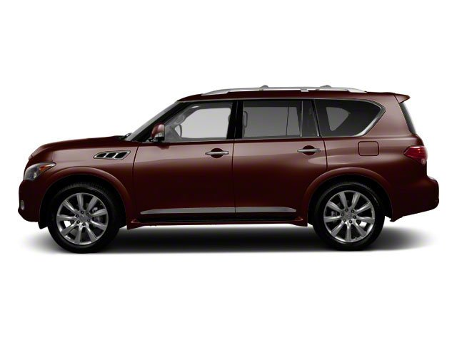Dark Currant 2012 INFINITI QX56 Pictures QX56 Utility 4D 4WD photos side view