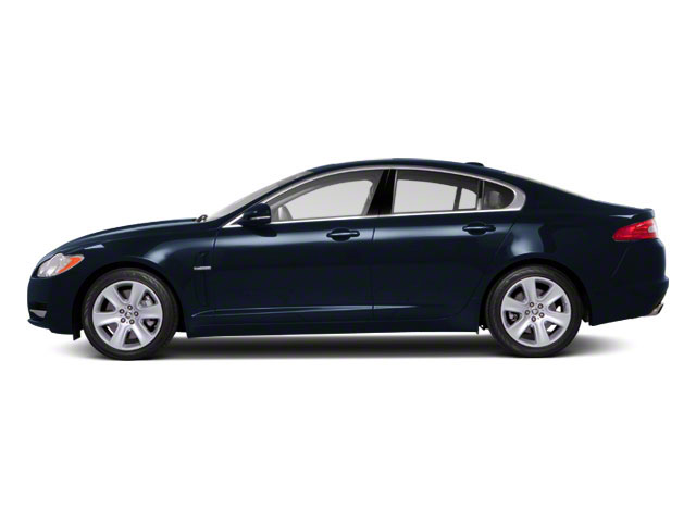 Azurite Blue 2012 Jaguar XF Pictures XF Sedan 4D photos side view