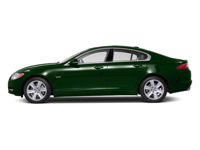 British Racing Green 2012 Jaguar XF Pictures XF Sedan 4D photos side view
