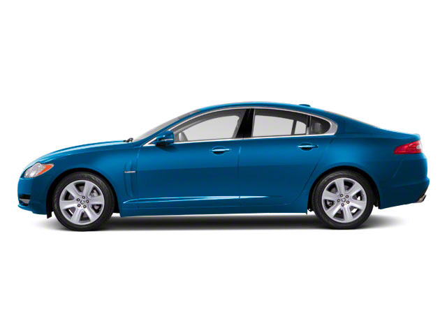 Crystal Blue 2012 Jaguar XF Pictures XF Sedan 4D photos side view