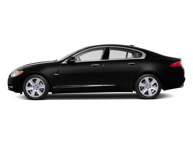 Ebony 2012 Jaguar XF Pictures XF Sedan 4D photos side view