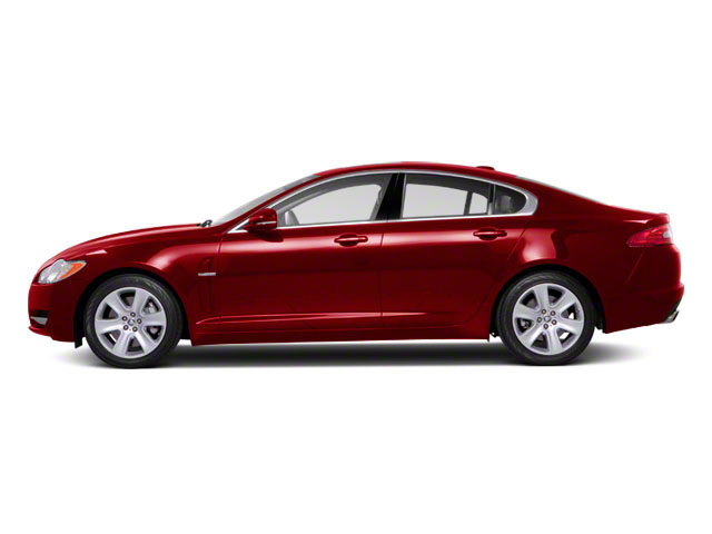 Italian Racing Red 2012 Jaguar XF Pictures XF Sedan 4D photos side view