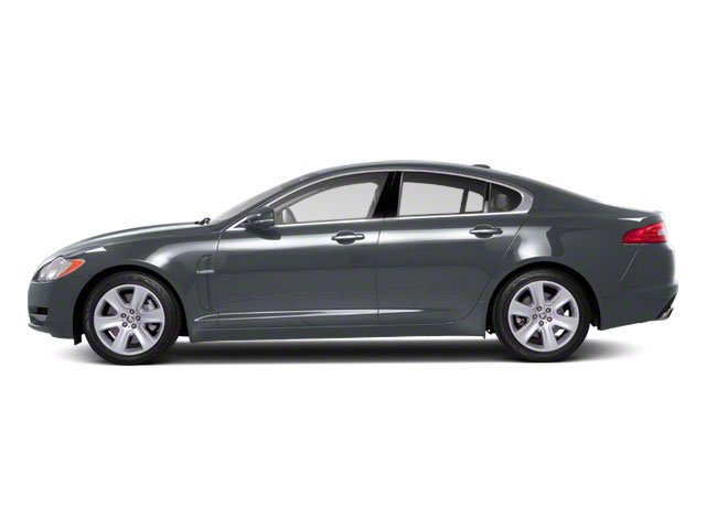 Rhodium Silver 2012 Jaguar XF Pictures XF Sedan 4D photos side view