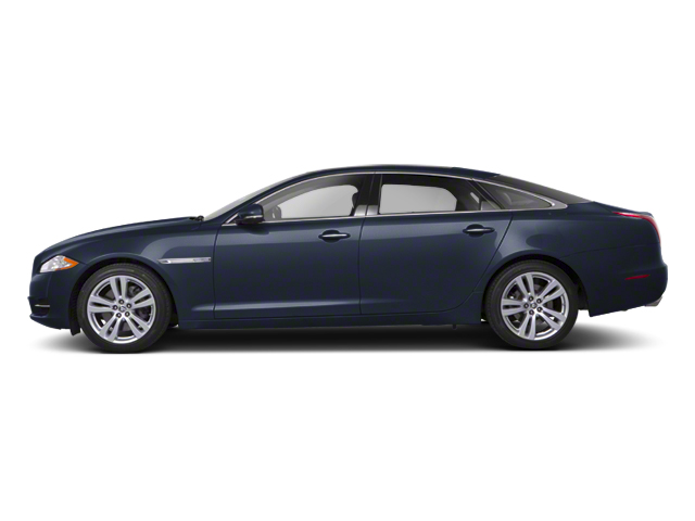 Azurite Blue 2012 Jaguar XJ Pictures XJ Sedan 4D photos side view